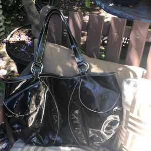 Anya Hindmarch Bags - Anya Hindmarch Black Patent Leather handbag